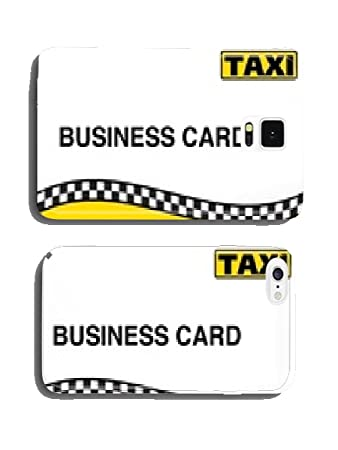 Taxi Taxi Visitenkarte Business Card No 2 Handy Amazon
