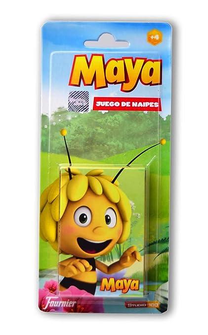 Abeja Maya - Baraja naipes en blister (Fournier 43251 ...