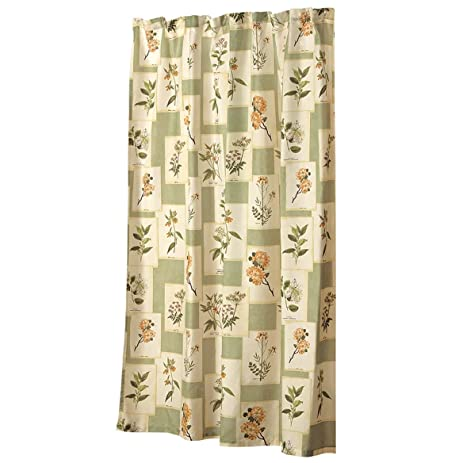 WalterDrake Botanical Shower Curtain