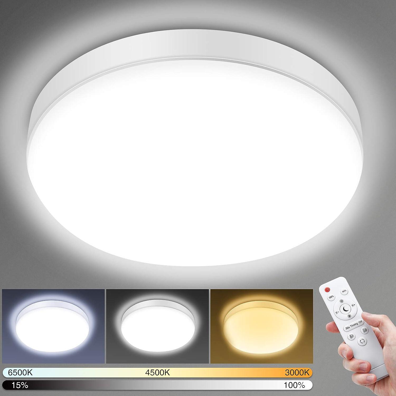 Elfeland LED Ceiling Light, 24 W, 2200 LM (Lumen) Bathroom Light