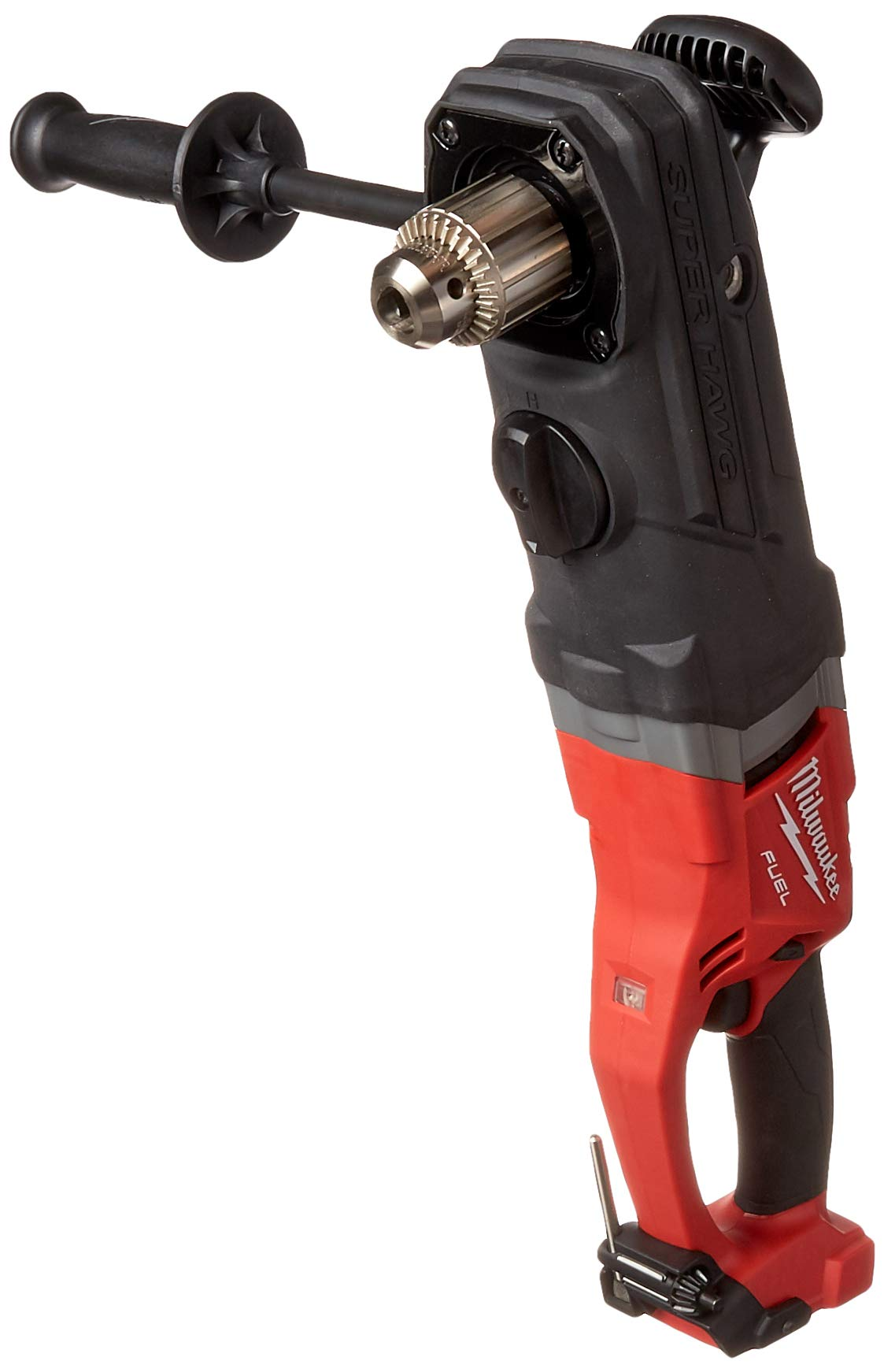 Milwaukee 2709-20 M18 Fuel Super Hawg 1/2'' Right Angle Drill Bare by Milwaukee
