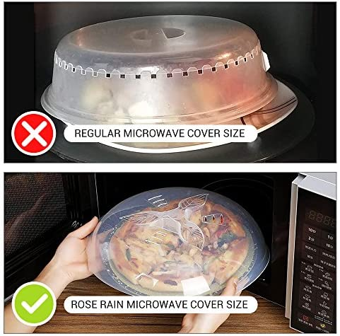 Microwave Plate Cover Microwave Cover for Food Microwave Splatter Guard AntiSplatter Plate Lid with