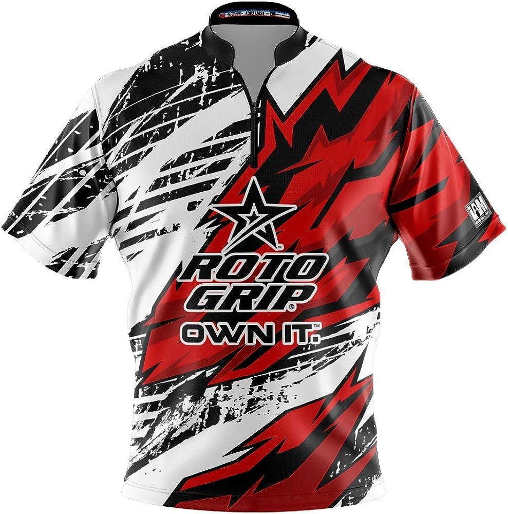 Logo Infusion Dye-Sublimated Bowling Jersey (Sash Collar) - I AM Bowling Fun Design 2009-RG - Roto Grip