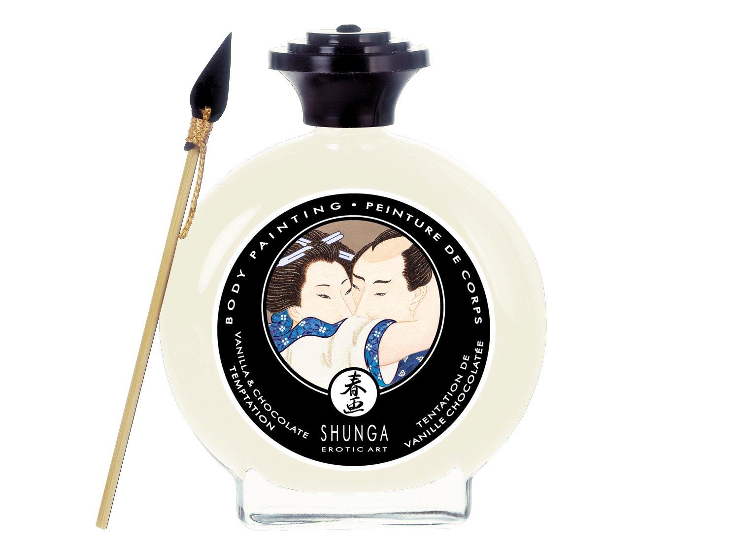 Shunga Body Paint Vanilla Chocolate 35floz100ml