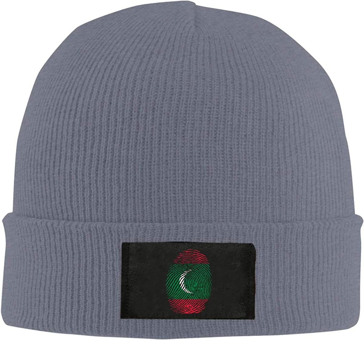 Unisex Stylish Slouch Beanie Hats Black Maldives Top Level Beanie Men Women