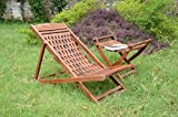 myWoodKart Amazing Garden Wooden Easy Chair (Sheesham Wood)