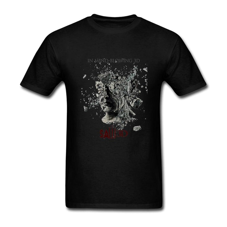 FQYPMC Man 100% Cotton Saw Poster Tshirts