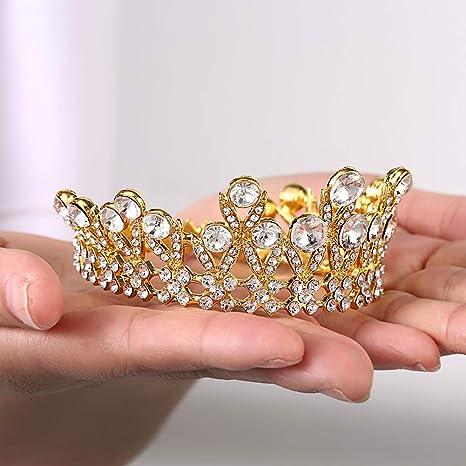 Amazon.com: Yunhao Corona Decoración para tartas de princesa ...