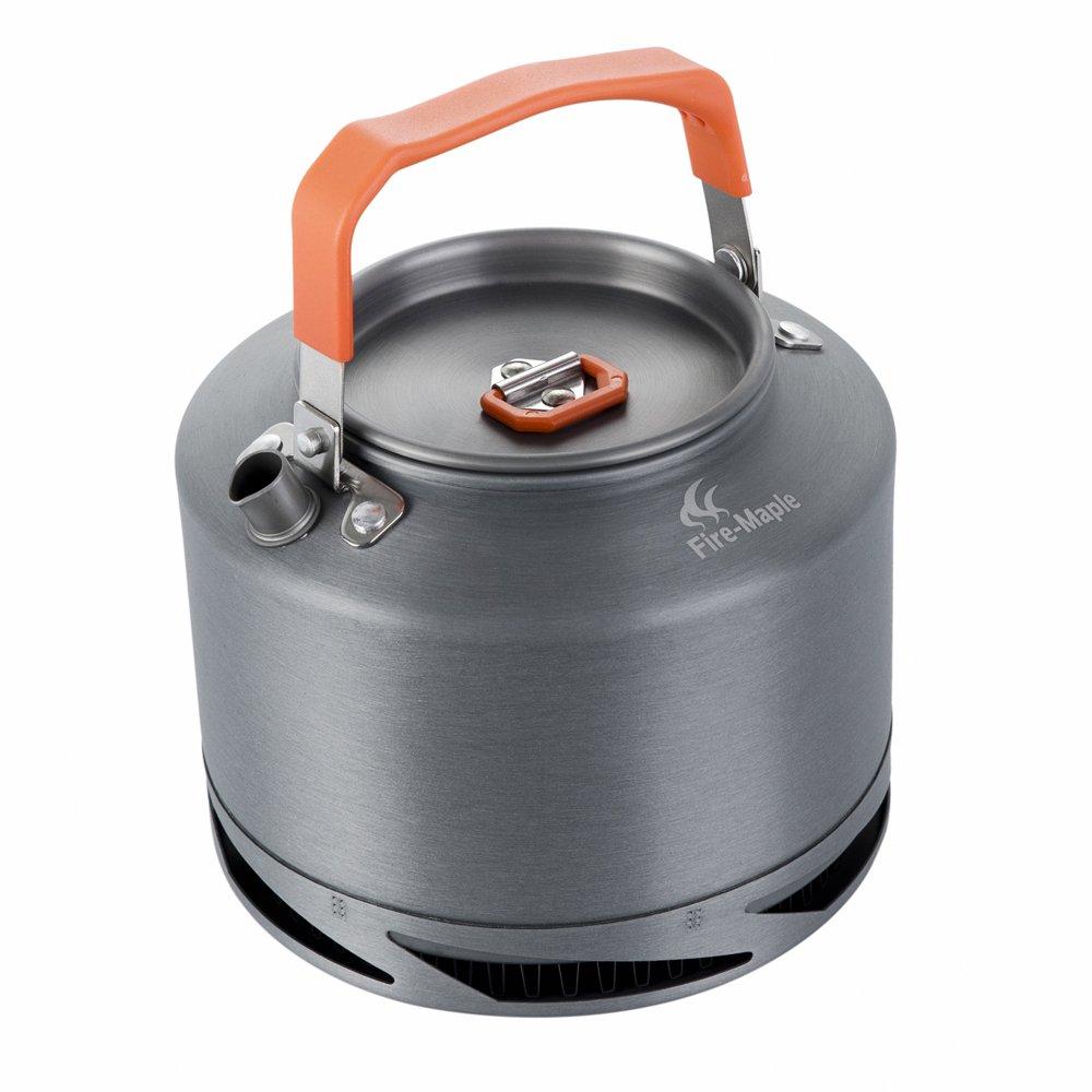 fire-maple fmc-xt2アウトドアキャンプ調理器具ポータブルピクニックアルミ製ケトルホットティー/コーヒーメーカー1.5 L B07BPR8M2P