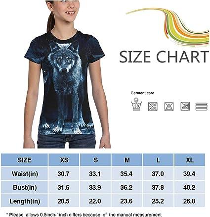 Girls Short Sleeve Retro Style Uruguay Silhouette T-Shirts XS-XL Fashion Blouse Clothes