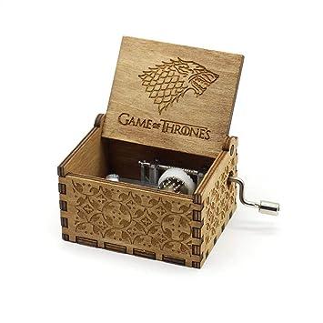 FOONEE Caja de Música Harry Potter, Cajas de Música Pequeñas para Mujeres/Niñas / Niños/Niños, Artesanías de Caja de Madera Tallada Antigua (I): Amazon.es: ...