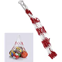Grote Sports Ball Hoop Mesh Carry Net Bag Net 10 Balls Carry Net Bag voor Basketbal Voetbal