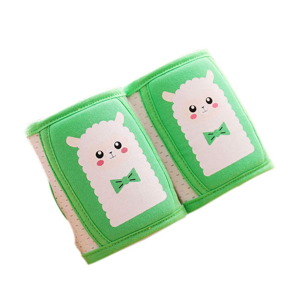 NACOLA Cute Cartoon Animal Baby Knee Pads,Adjustable Infant Toddler Crawling Pads