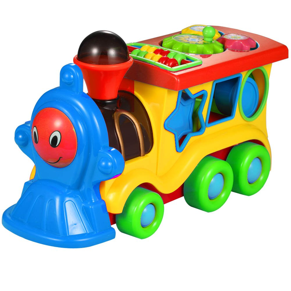 Electric Musical Kids Train Toy Kawo Funおもちゃfor Babies and Toddlers ( Age 3 + )   B01M628VGJ