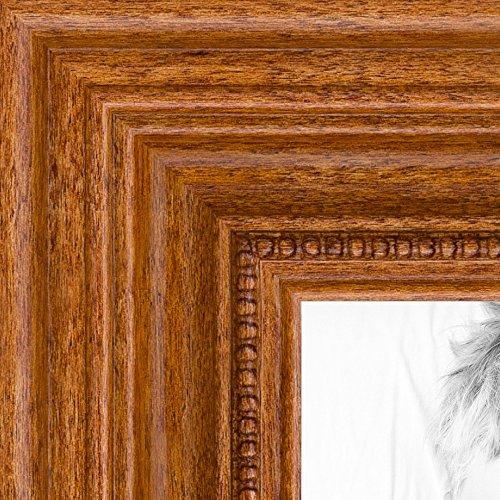 ピクチャーフレーム Dark Cherry Stain。。幅1.25インチ。 16 x 36