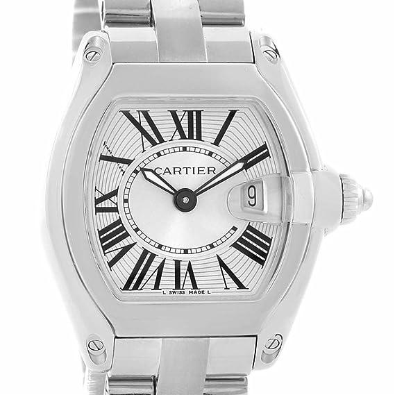 Cartier Roadster Cuarzo Mujer Reloj w62016 V3 (Certificado) de Segunda Mano: Cartier: Amazon.es: Relojes