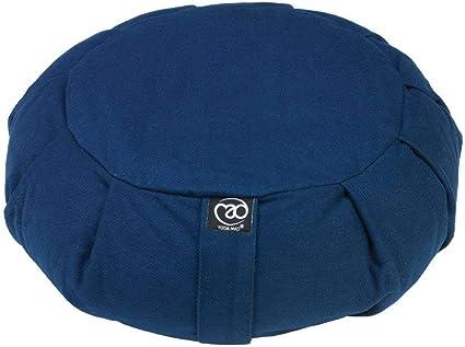Amazon.com : Yoga Mad Unisexs Yoga Meditation Zafu, Blue ...