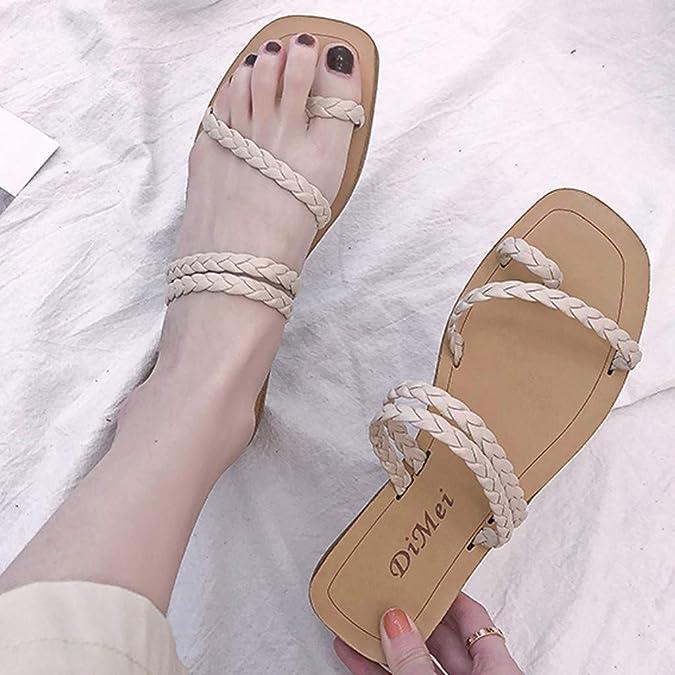 veyikdg Sandals Zapatillas de Running de Otra Piel para Mujer Talla /única