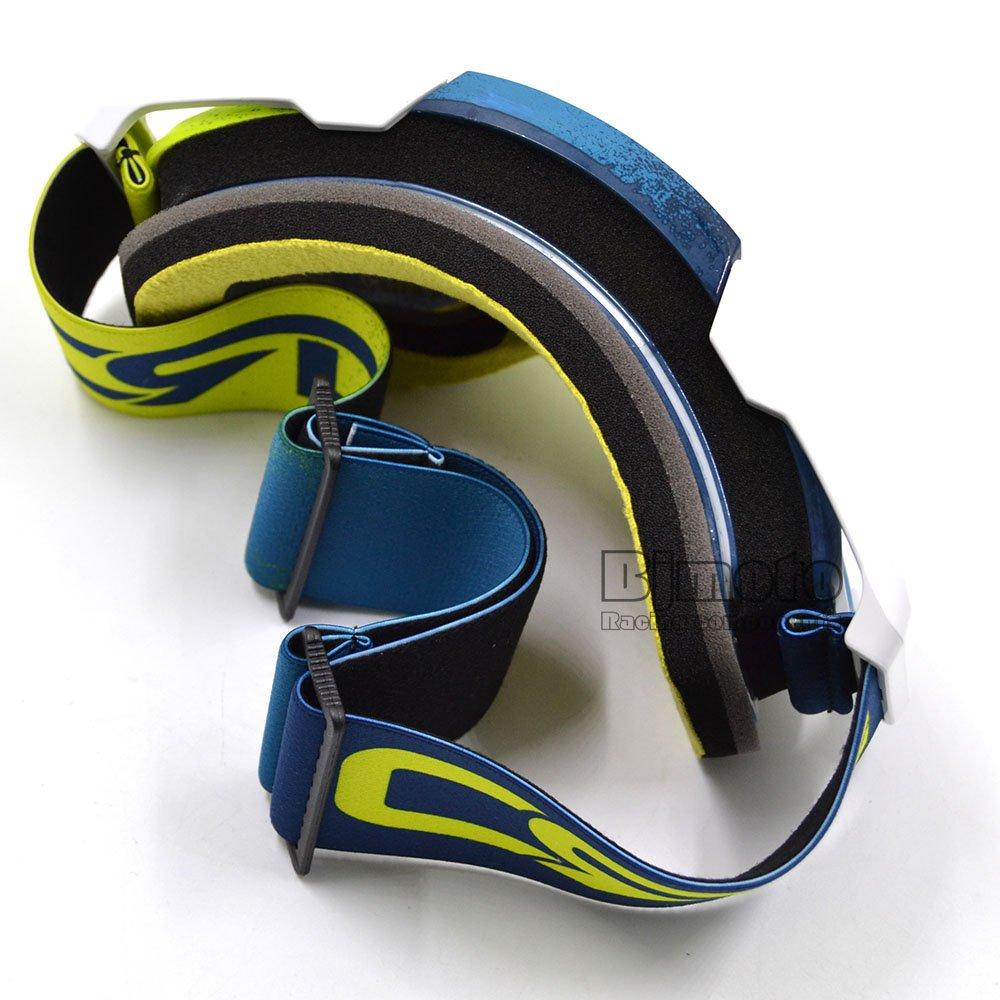 gafas de esqu/í resistente al viento Gafas de motocross antidistorsi/ón a prueba de polvo con espuma suave y lentes transparentes gafas para adulto para evitar la suciedad en moto o bicicleta BJ Global