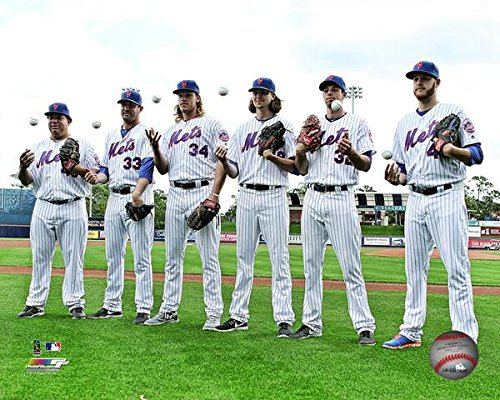 New York Mets 2016 Pitching Rotation Photo
