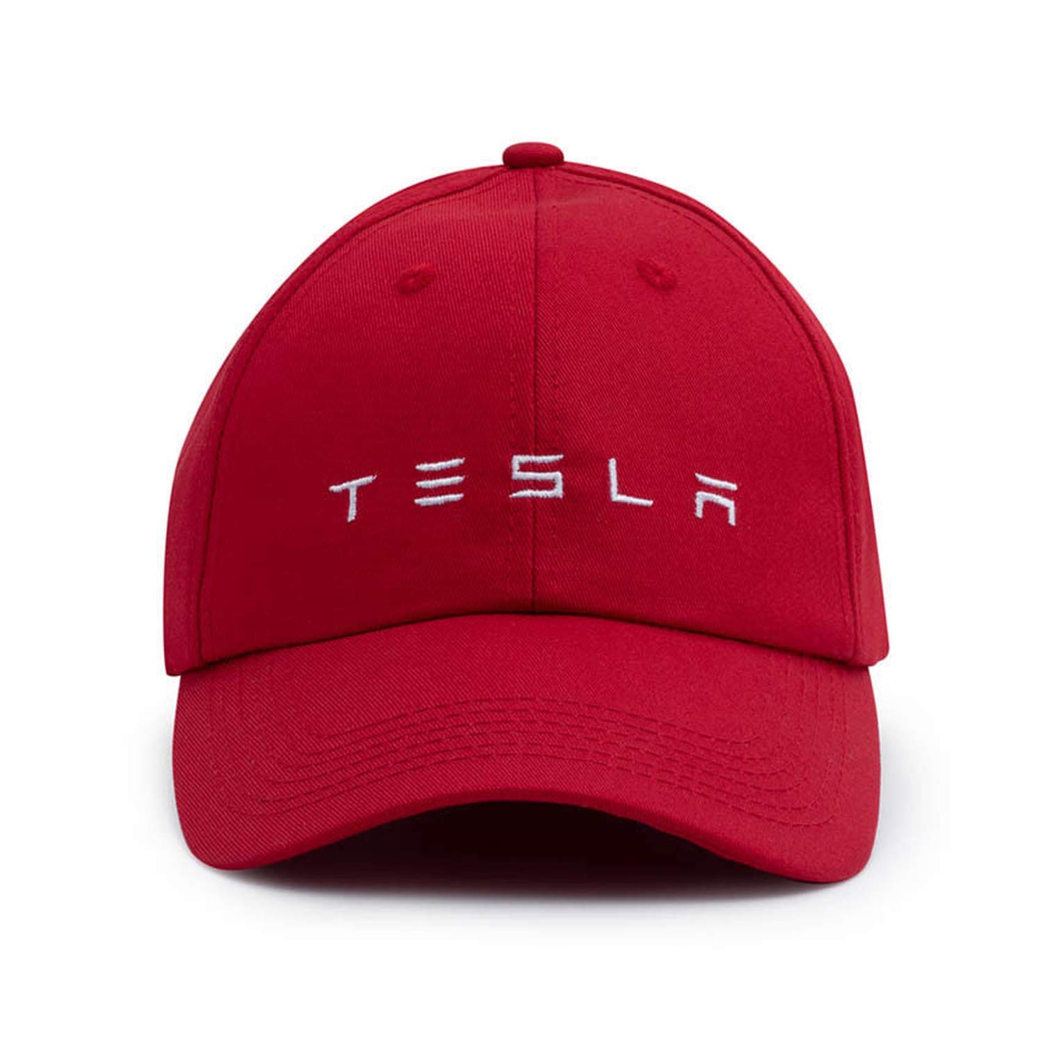 New Tesla Logo Cap Sport Baseball hat Outdoor Adjustable Hood Baseball caps Men Gorras para Hombre de Marca Black at Amazon Womens Clothing store: