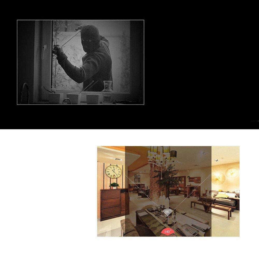 DOJA Barcelona | Mini Camera espía -calidad HD1080p- Vigilancia niños / Oculta / Deportiva - Incluye visión nocturna deteccion de movimiento - Puede tomar ...