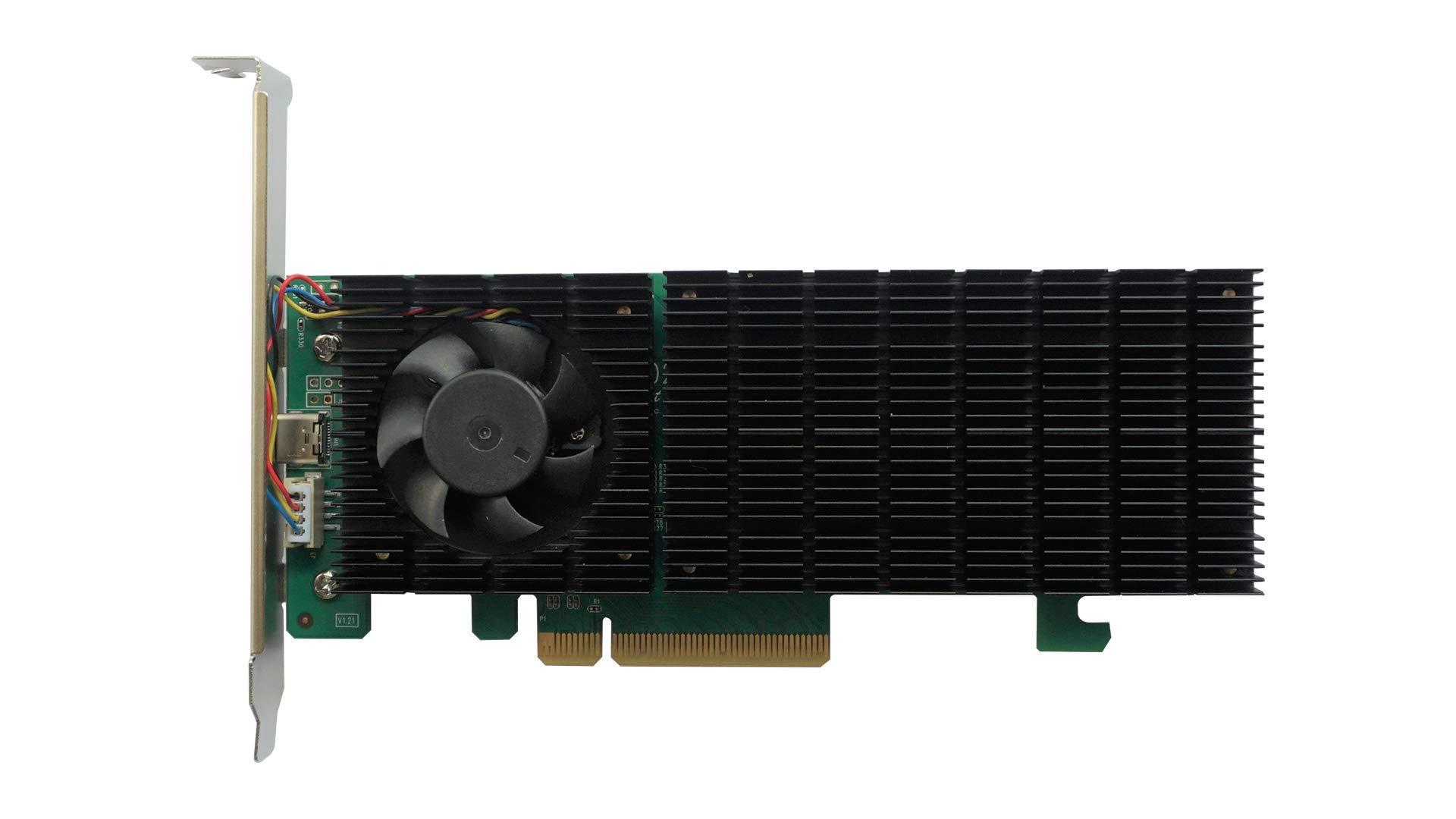 HighPoint Technologies SSD6202 Driverless  Bootable 2X M.2 P