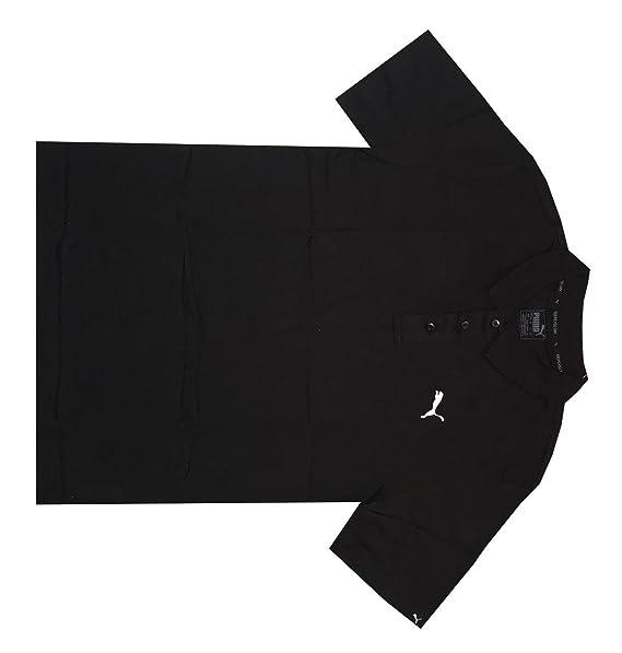 daa51e8af1cb Amazon.com  PUMA Men dryCELL ESS Regular Fit Jersey Golf Polo Shirt ...