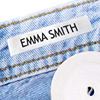 100 Personalized Iron-on Fabric Labels to Mark Your Clothes. Gentle with Your Kids Skin, for Children's School Uniform…