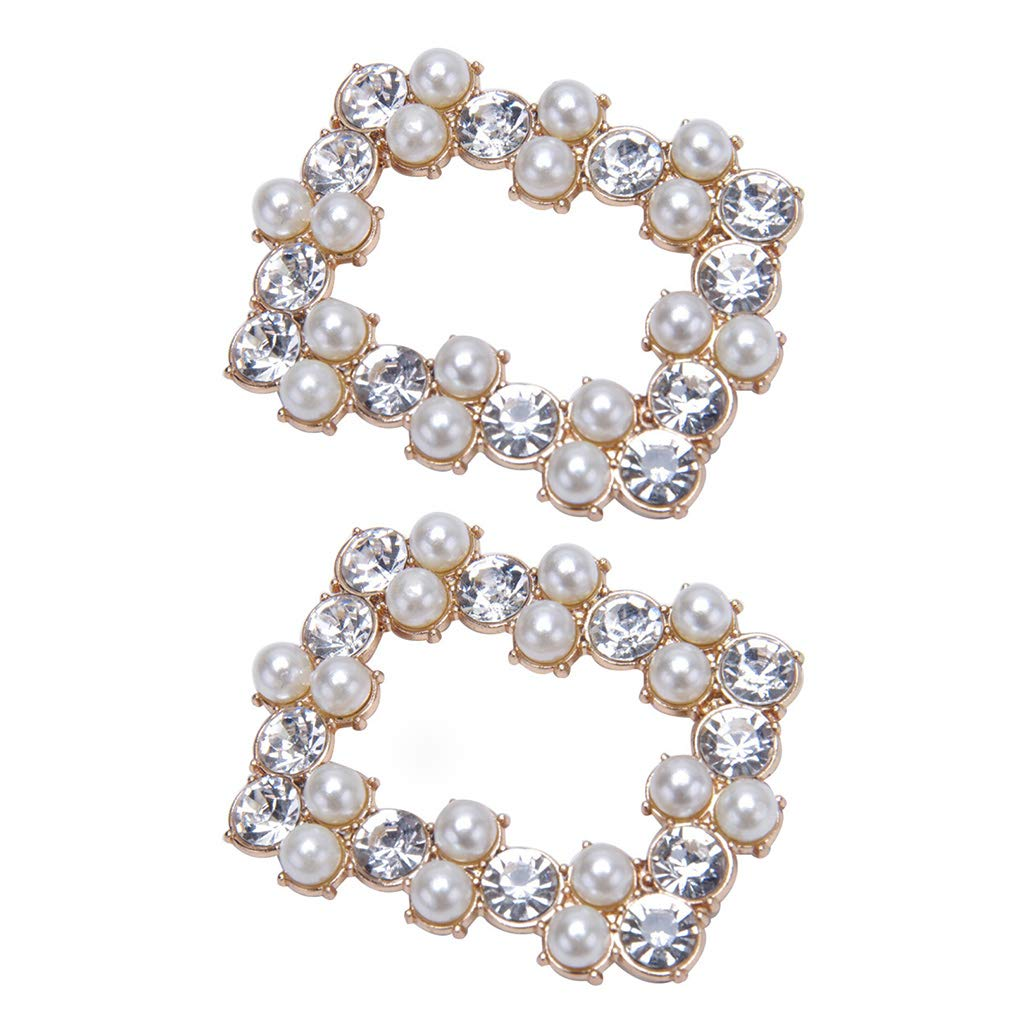 0931a484c3 BINGHONG3 2 Pcs/Set Shoe Clip DIY Women Lady Shoes High Heel Sandals ...