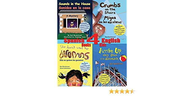 4 Spanish-English Books for Kids: Amazon.es: Beckstrand, Karl, Jones, Channing, Hollenbach, David: Libros en idiomas extranjeros