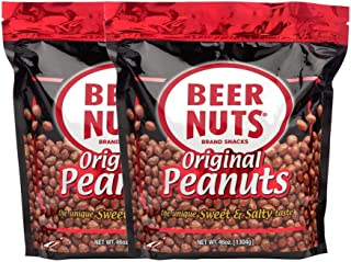 product image for BEER NUTS Original Peanuts - 46 oz Resealable Bag (Pack of 2), Sweet and Salty, Gluten-Free, Kosher, Low Sodium Peanut Snacks