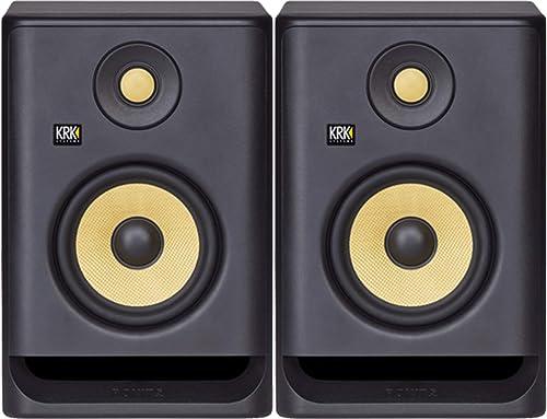 KRK Rokit 5 G4 Studio Monitor Bundle