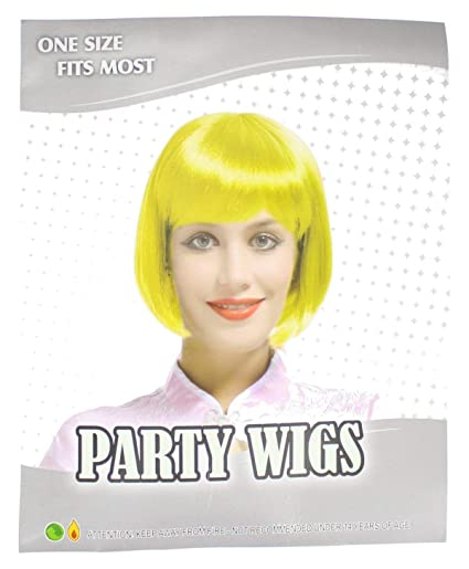 Green One Size Fits Most Party Bob Wig Fancy Dress Accessory Parrucche e parrucchini Accessori