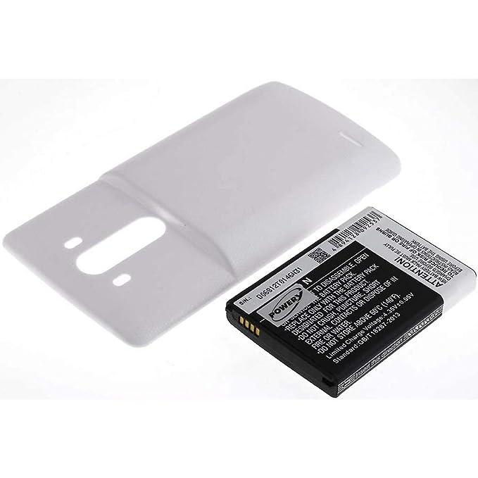 Batería para LG G3 Color Blanco 6000mAh