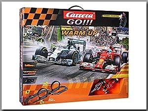 Carrera Go Warm Up Rennbahn 20062363 mit Looping