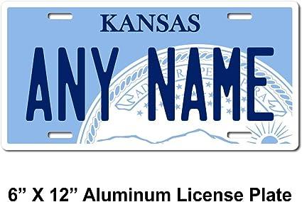 TEAMLOGO Personalized Texas License Plate Key Rings Version 5 Sizes for Kids Bikes Trucks Cars Cart