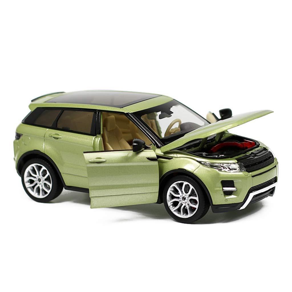 Gjrff Auto Modellauto 1 24 Land Rover Aurora SUV Simulation Legierung Druckguss Spielzeug Ornamente Sportwagen Sammlung Schmuck