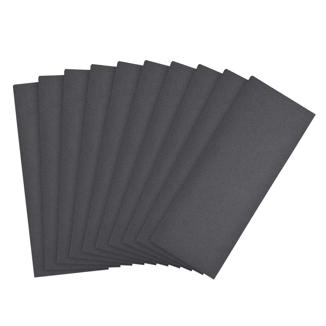 sourcing map 360 Grits Sanding Sheets 9-inch x 3.6-inch Wet Dry Silicon Carbide Sandpaper for Wood Furniture Metal Automotive Polishing 10pcs