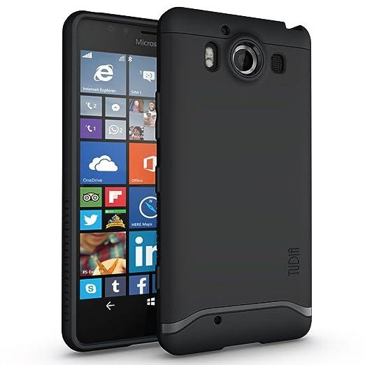 20 opinioni per Microsoft Lumia 950 custodia, confezione TUDIA rigida Slim Fit-MERGE a doppio