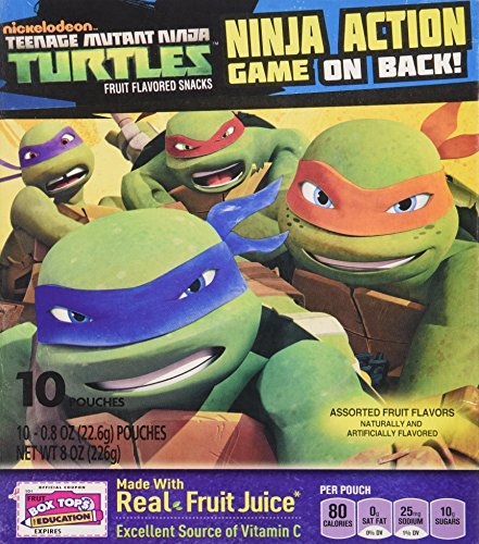 Betty Crocker Fruit Snack - Teenage Mutant NINJA