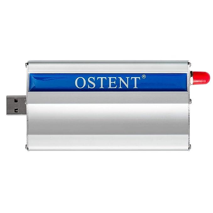 OSTENT GSM Modem with Wavecom Q2303A Module USB Interface AT Commands SMS