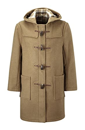 Mens Duffle Coat -- Camel: Amazon.co.uk: Clothing
