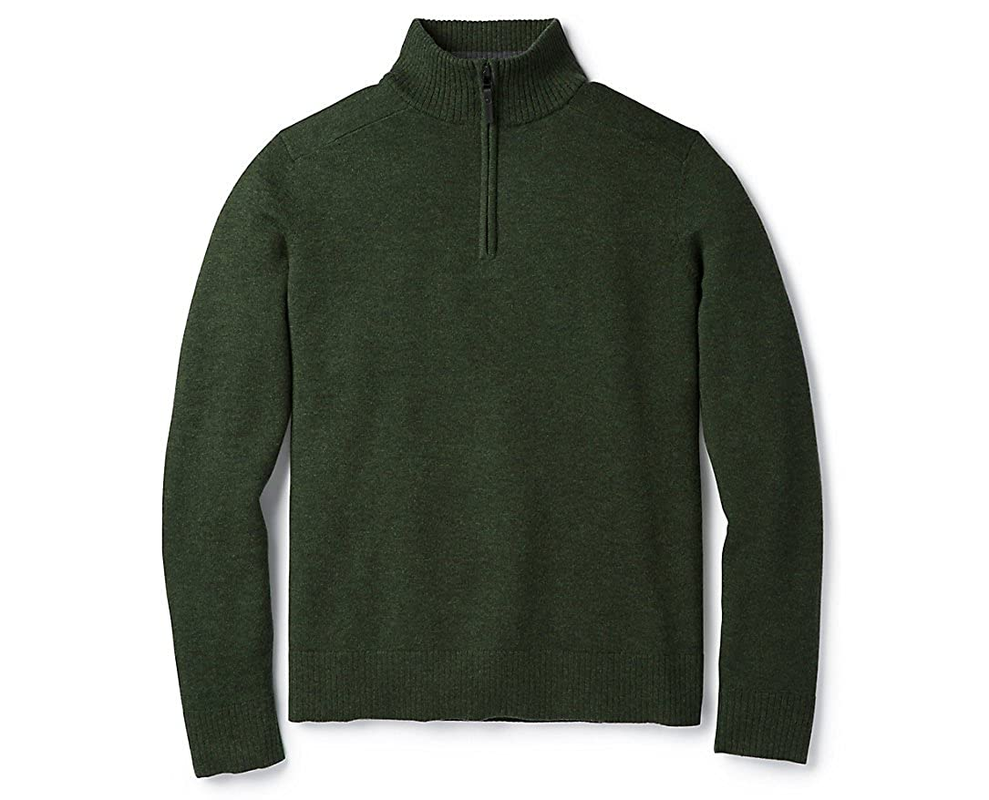 12add5767f8b82 SmartWool Mens Sparwood 1/2 Zip Sweater at Amazon Men's Clothing store: