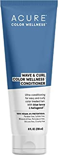 product image for ACURE Wave & Curl Color Wellness Conditioner| 100% Vegan | Performance Driven Hair Care | Blue Tansy & Sunflower Seed Extract - Ultra-Conditioning For Wavy & Curly Color Treated Hair | 8 Fl Oz