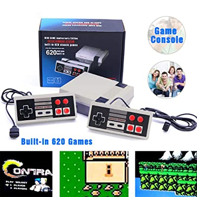 Trunple Retro Classic Mini Game Consoles- Retro Handheld Games - Built in 620 Classic Games - Dual Gamepad Gaming Player: Toys & Games