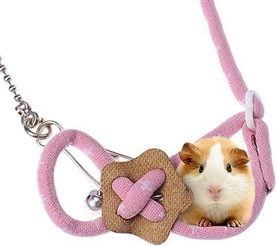 Greyghost Pet Hamster Arnés, Cuerda de tracción Ajustable Pecho ...