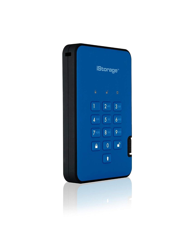 iStorage diskAshur2 - 2TB USB 3.1 Portable cifrado SSD Drive (4 TB ...