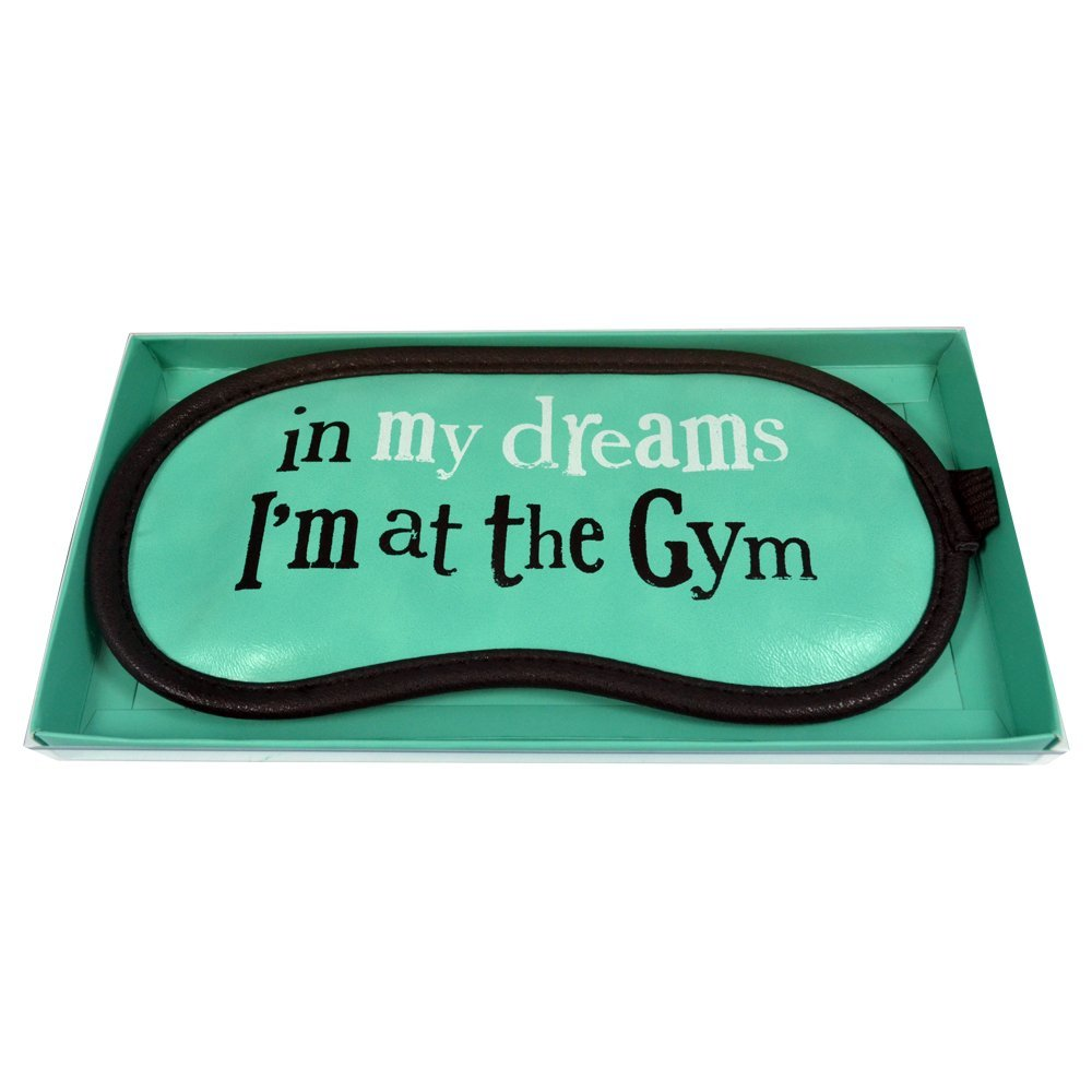 The Bright Side Eye Mask - In My Dreams, I'm At The Gym. New Stock BSMH42