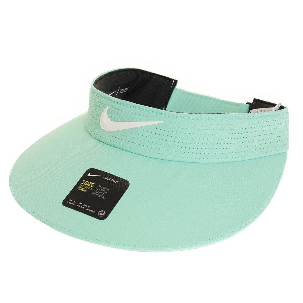 Nike Women`s AeroBill Big Bill Golf Visor (Light Green(892758-342)/White, One Size)